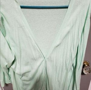 Old Navy Mint Knit Cardigan
